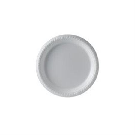 Assiette en polystyrène