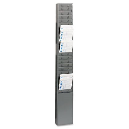 SteelMaster® 25-Pocket Steel Time Card Rack
