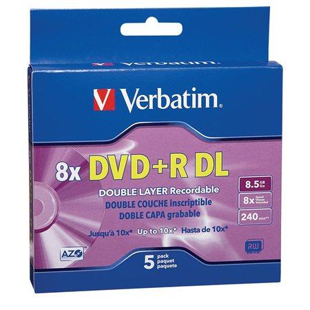Disque DVD+R imprimable DataLife Plus