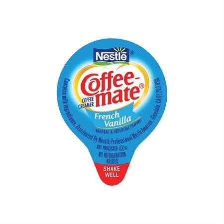 Coffee-Mate® Whitener Box of 180, 11 ml serving. French vanilla