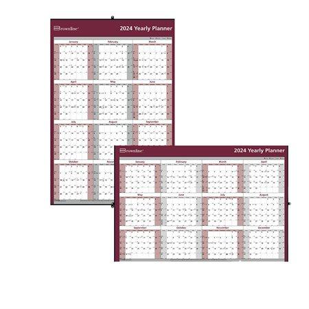 2020 Yearly Wall Calendar