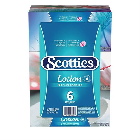 Papier mouchoirs avec lotion Scotties®