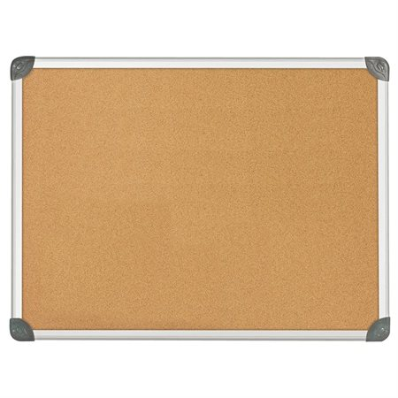 Bulletin Board with Euro™ Frame 24 x 36""