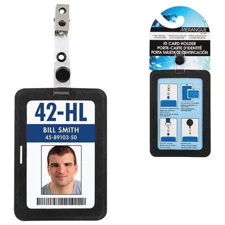 Porte-carte d'identité en silicone