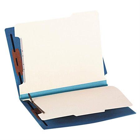 2 Dividers Classification Folder blue