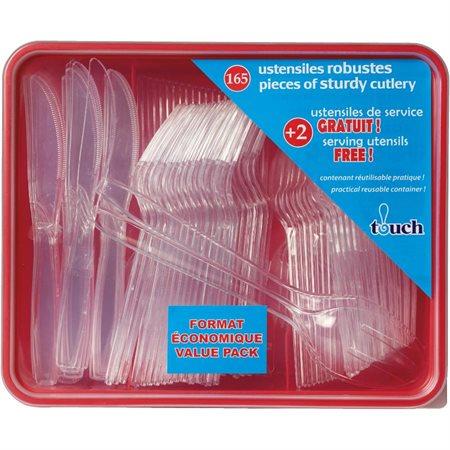 Touch Premium Plastic Cutlery