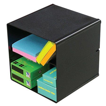 Cube de rangement empilable