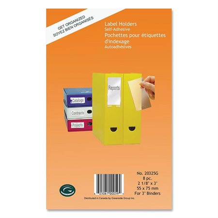 Self-Adhesive Label Holder
