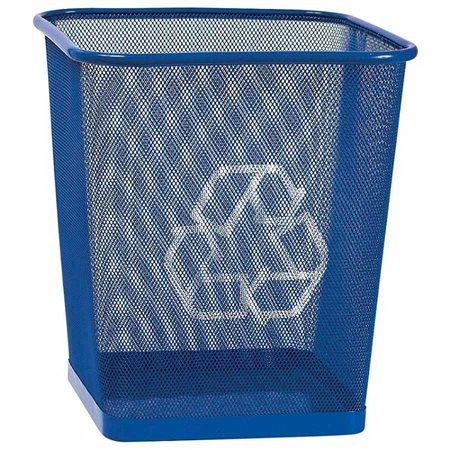 Corbeille de recyclage en treillis