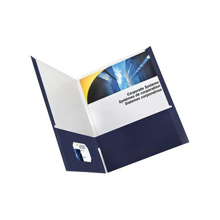 Couverture de présentation à deux pochettes
