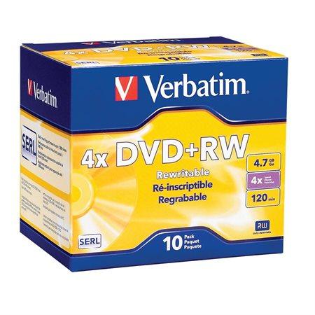 DVD+RW Rewritable Disk