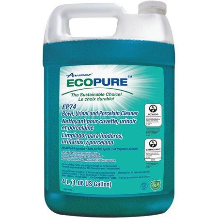 Nettoyant pour cuvette, urinoir et porcelaine EP74