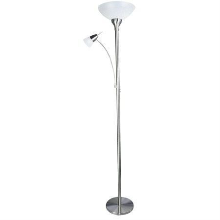 "LAMP FLOOR PROSPERO 12W 72"" CHROME"