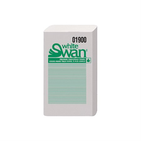 Essuie-mains à pli simple White Swan®