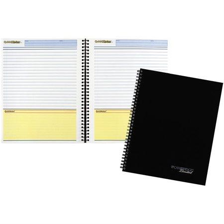 Carnet d'affaires avec planificateur Quicknotes®