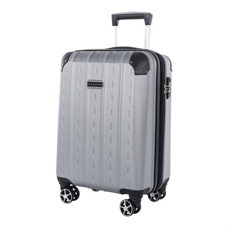Hard Case Travel Luggage silver