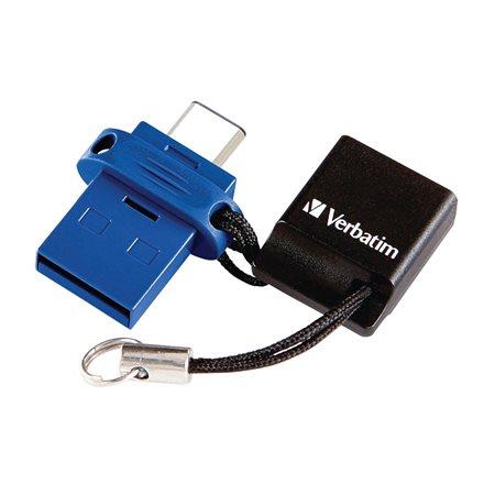 Clé USB double Store 'n' Go pour périphériques USB-C