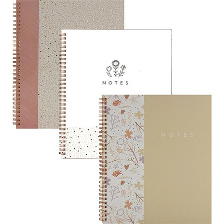 Cahier de notes spiral Emma Verde