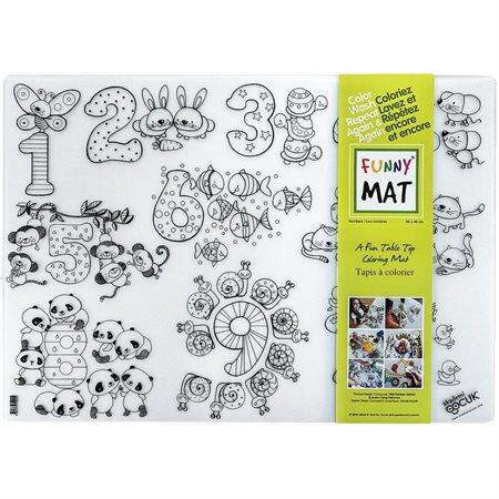 Tapis à colorier Funny Mat®