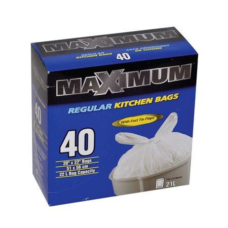 Sac à ordures de cuisine Maximum