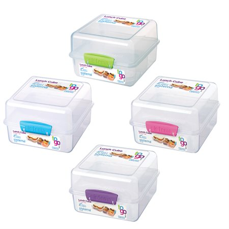 Sistema® Lunch Cube to Go™ Food Container