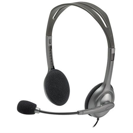 Casque d'écoute stéréo PC H111