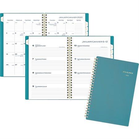 Agenda hebdomadaire / mensuel Colour Bar (2020)