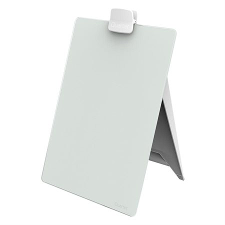 Glass Desktop Dry-Erase Easel