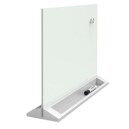 Glass Desktop Dry-Erase Panel