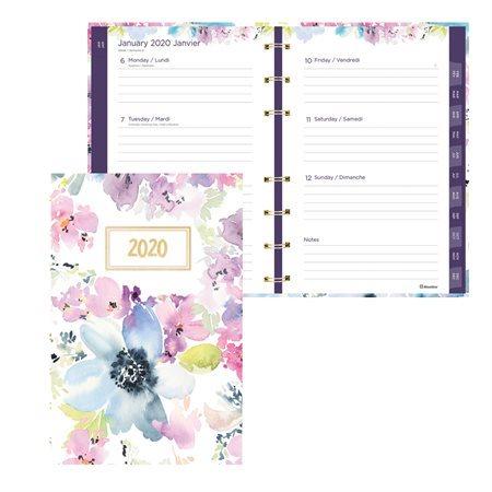Agenda hebdomadaire / mensuel Passion MiracleBind™ (2020)
