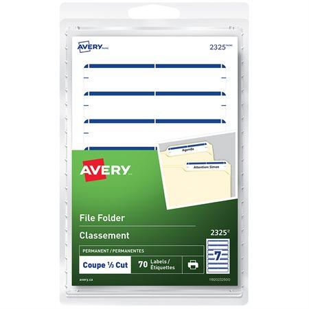 Self-Adhesive File Folder Labels