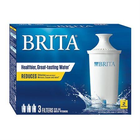 Filtres de remplacement pour pichets et distributeur d'eau Brita®