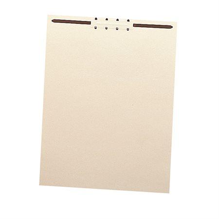 File Folder Backs with Fastener