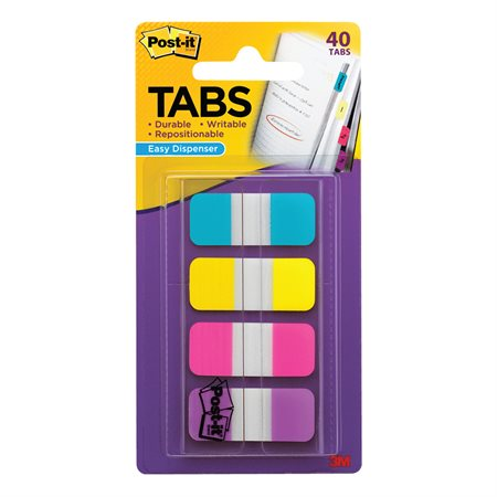 """POST-IT TABS 5 / 8"""" ASST  40 / PK"""