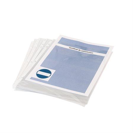 Pochettes protectrices pour livres de procès-verbaux