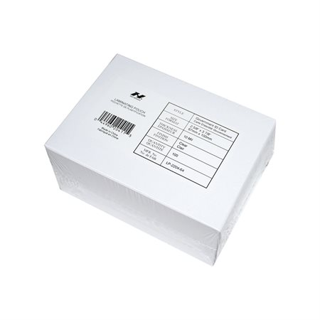 Card Laminating Pouches