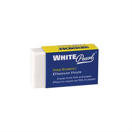 Gomme à effacer en vinyle White Pearl