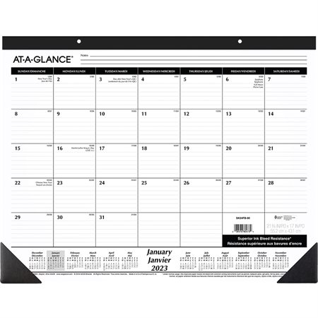 Monthly Desk Pad Calendar (2020)