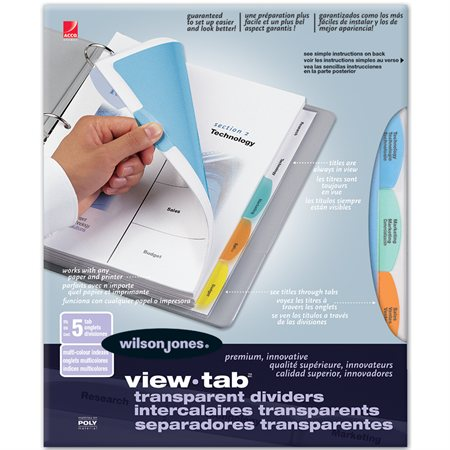 View-Tab® Dividers