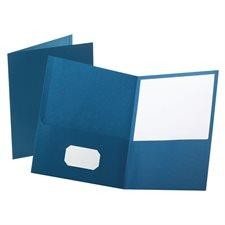 Twin-pocket portfolio