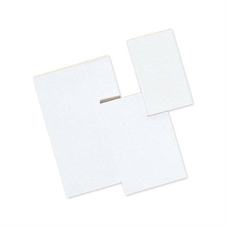 Bloc de papier blanc uni