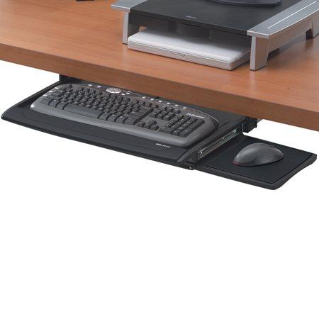 Tiroir à clavier avec repose-poignets