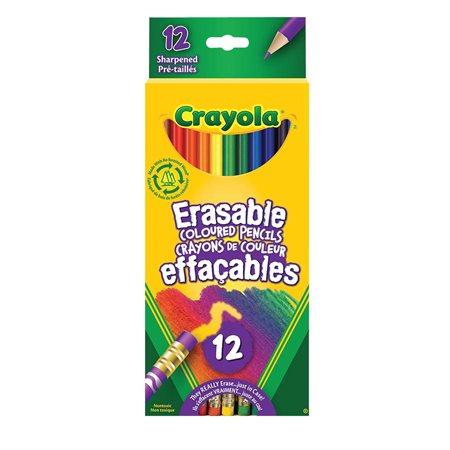 Crayons à colorier effaçables