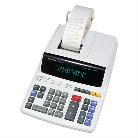 Calculatrice à imprimante EL-2607RIII
