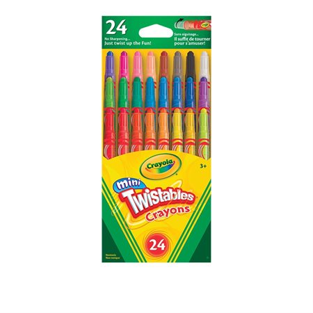 Mini-Twistables Wax Crayons
