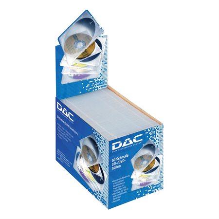 Boîtier mince flexible pour CD / DVD