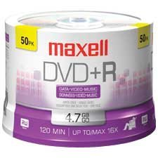 16x Writable DVD+R Disk