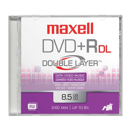 Double Layer DVD+R Disk