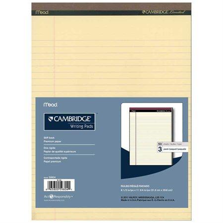 "Bloc-notes de bureau ""Cambridge Limited"""