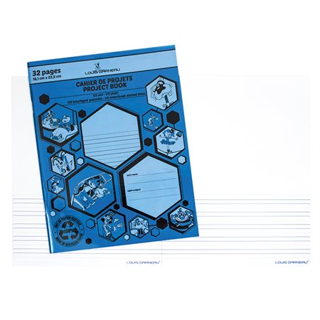 LG30 Project Interligned Lines Writing book